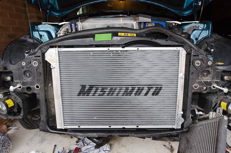 Mishimoto Radiator – Mini Cooper S R53 Track Car